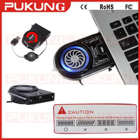 China Manufacturer 2015 NEW Vacuum USB Air Extracting Laptop mini Cooler Fan for Notebook