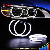 2016 new angel eyes headlight halo rings kit for bmw 3 5 7 series