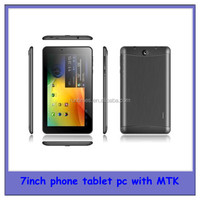 new arrival 7inch mtk8312 dual core 3g tablet android