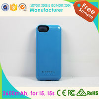 2000mAh External Power Bank Charger Pack Backup Battery Case for iPhone4/4S