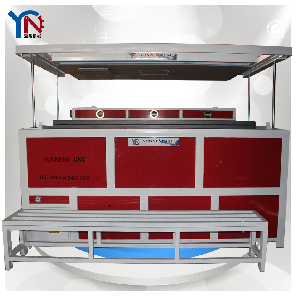 China well used Acrylic Plastic suction molding Machine