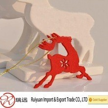 2015 Hot Sale Laser Cut Customized Deer-Shaped Christmas Decoration Made in China