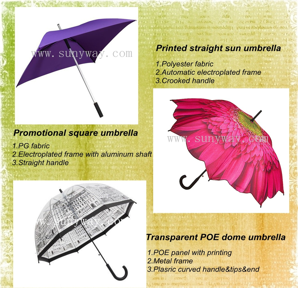 hot fix rhinestone 23 inches 8 ribs 10 mm automatic metal umbrella with piping