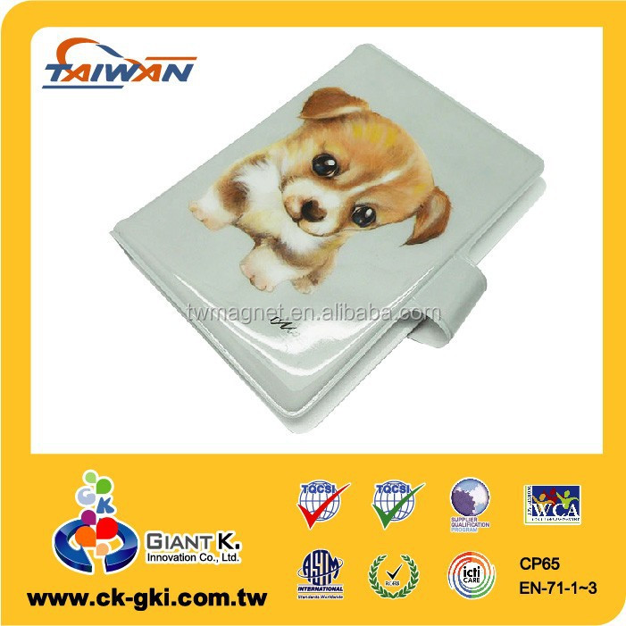 Plastic custom pattern soft pvc card cover