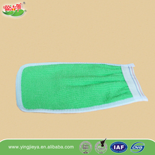 exfoliating cotton terry cloth kids bath gloves