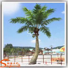 high quality new product plastic coconut palm tree fake plant tree artificial coconut tree for sale