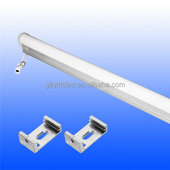 Inner control 6 pixel led digital tube with aluminum groove