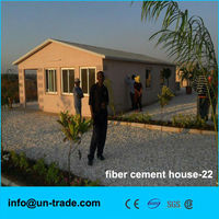 Low cost prefab modular cement house for Africa