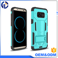 mobile phones hybrid PC+TPU case for samsung galaxy s8