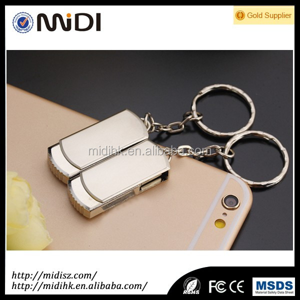USB 3.0 Large capacity Metal USB flash drive 1GB- 64GB 128GB