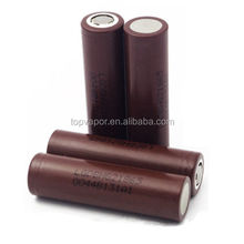 2016 authentic Brown lg 18650 3000mah battery hg2 3.6v 35A LGDBHG21865 INR 18650 hg2 3000mah high discharge 18650 lghg2/he4/hg2