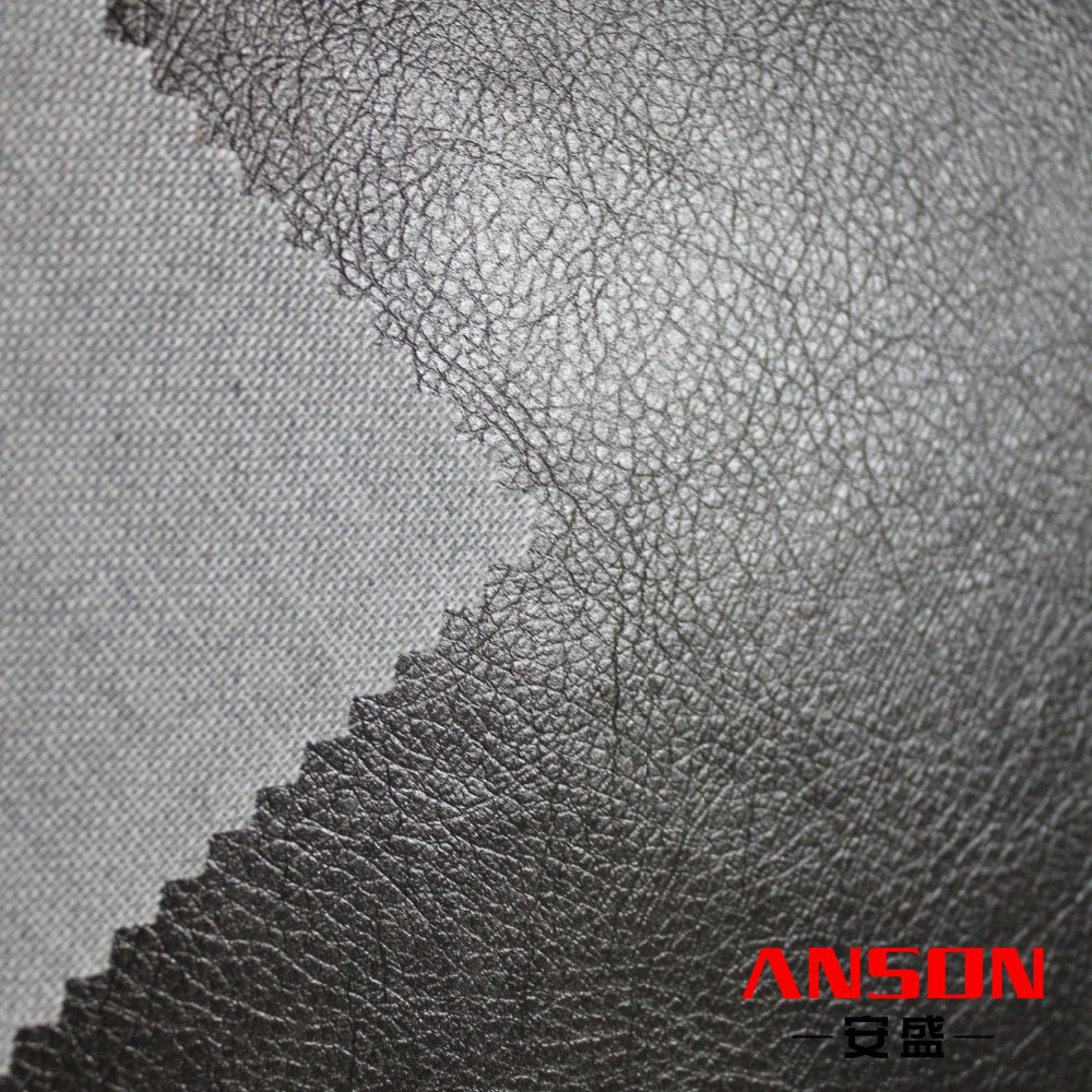 Discount sale embossing synthetic leather fabric stocklot