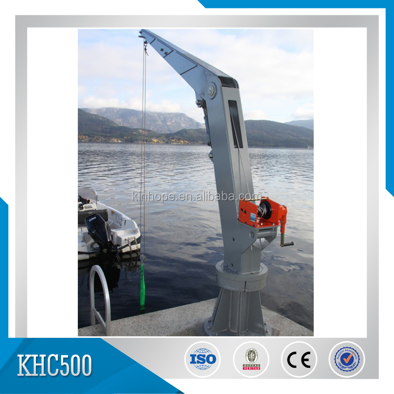 Electric Hydraulic Ship Deck Cranes