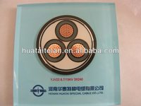 YJV XLPE Power Cable with Sectional Area of 50 to 500mm and Cu Tape Screen