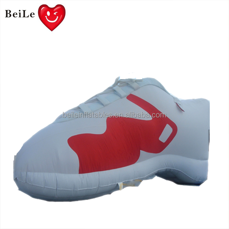 Giant inflatable replica inflatable shoe