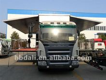 2016 Top new design JAC 4*2 mobile stage truck