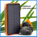 30000mah Waterproof Solar Power Bank Externa Solar Charger Powerbank For All Mobile Phone