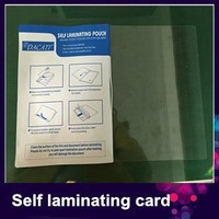 hot sale Instant self adhesive laminating pouch