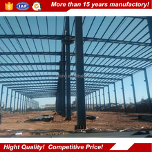 steel frame structure warehouse / prefabricated steel structure workshop