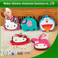 promotional cartoon design shape silicone key cover ,silicone key holder