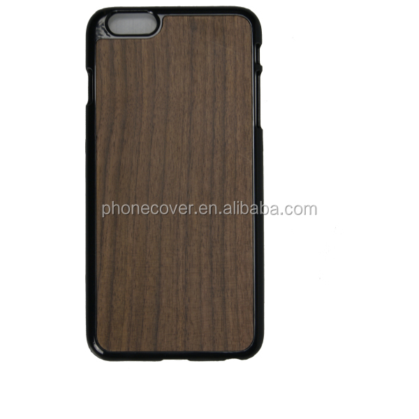Blank natural real wood phone cover waterproof phone case for iphone5,for iphone6