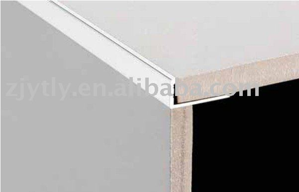 Metal corner tile trim Aluminum tile trim/Edge trim( L shape)