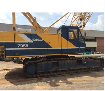 Original Used Best Quality Kobelco 7055 Crawler Crane
