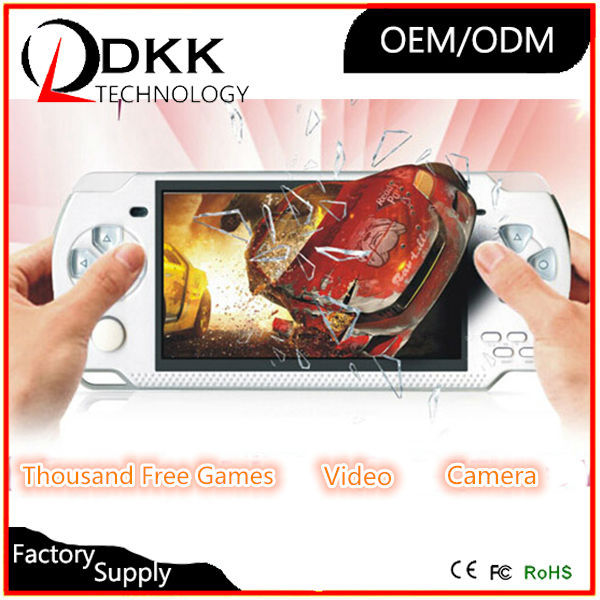 Quality portable game console 4.3 inch 8GB support TF card Video Music pxp game console game simulator seat racing