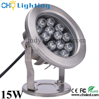high quality 12V 15W more colour RGB led IP68 fountain lighting