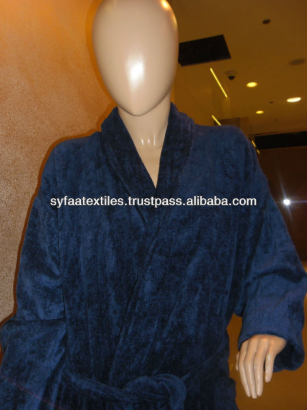 Best Selling Bathrobe with Towel Set Picture