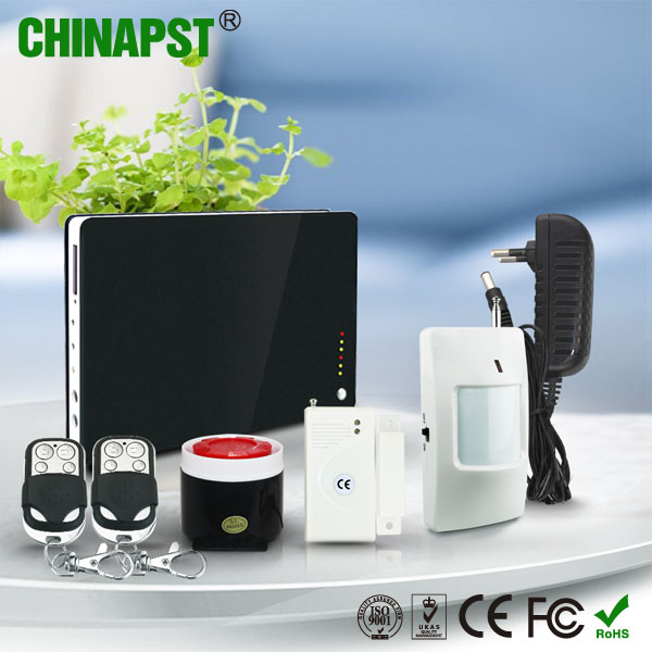 SMS to switch the language function iOS app/Android app 12 Wireless & 2 Wired Zone animal alarm sensor PST-GA122Q