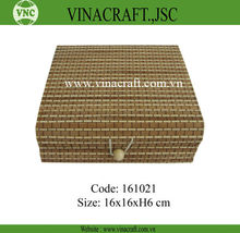 Small nice bamboo woven gift packaging box