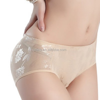Butt lift Up Breathable Underwear Nice bottom panties Butt Enhancer Shaper Low Waist Push Up Buttock Women Padded Panties