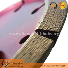 Professional V shape crack chaser diamond blade for chasing and repairing