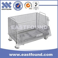 Storage equipment Wire mesh bulk collapsible containers