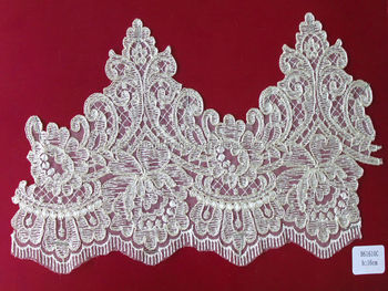 2014 water slouble embroidery lace/ galloon lace
