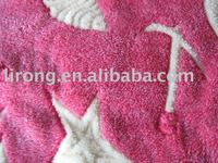 knitting fabric, coral fleece fabric