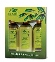 Olive Oasis kit - Body lotion, shower gel & conditioning shampoo