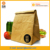 wholesale custom brown tyvek paper Insulated Lunch cooler Bag