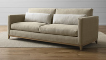 China wooden fabric sofa XYN4928