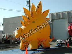 yellow inflatable giant dragon, large inflatable model for custom inflatable KKM-L043