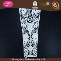 Factory offer cheap chemical necklace african embroidery cotton collar lace design for ladies dress