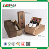 antique style wooden wine packing box wine package