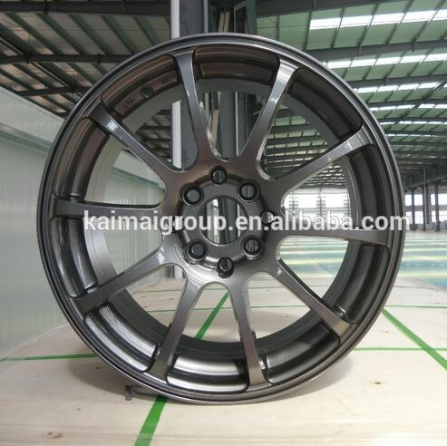 Gold aluminum replica alloy wheel rim for whole sale