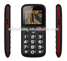 New 1.77inch big large button cordless cell phones mobail phone for seniors