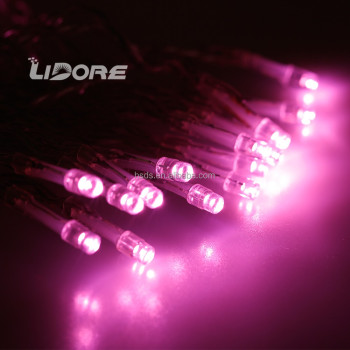 Christmas color rope light LED solar CSA UL CE LIDORE decorative waterproof