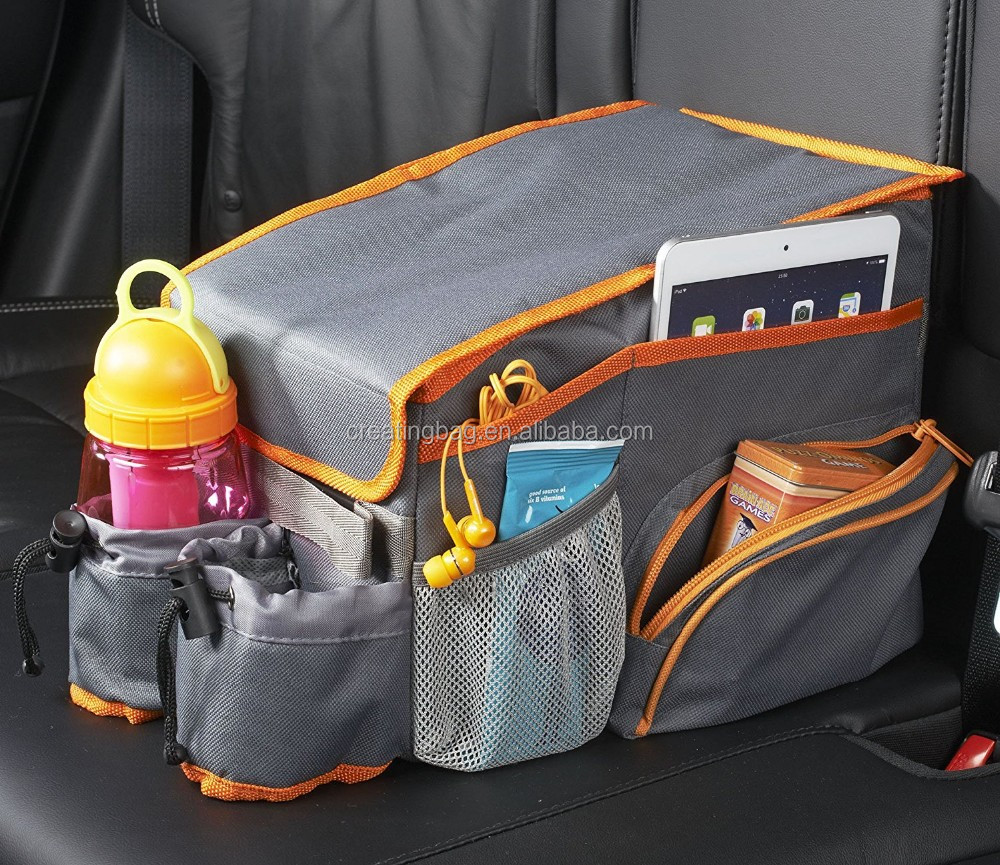 Kids Car Seat Cooler bag and Back Seat Organizer