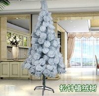High-grade flocking pine needle tree 1.8m 1.2m 1.5m meters snow christmas ornament