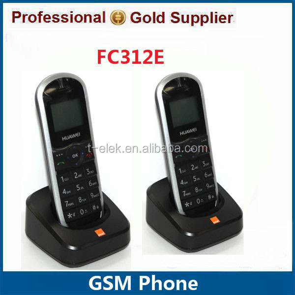 FC312E GSM 900MHz 1800MHz Sim Card GSM Cordless Phone