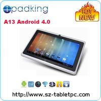 7 Inch Tablet PC Software Download Android 4.0 OS